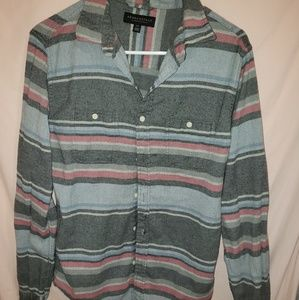 ☆ Aeropostale small long sleeve flannel ☆